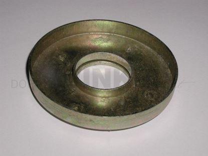 Bild von Blechteller für Gummianschlag