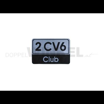Bild von Aufkleber 2CV6 Club