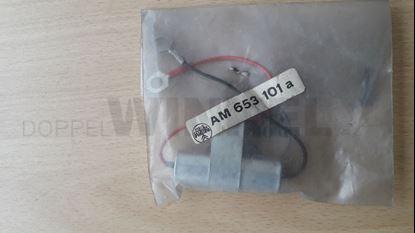 Bild von Entstörkondensator an der Lichtmaschine