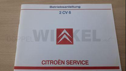 Bild von Betriebsanleitung 2CV6