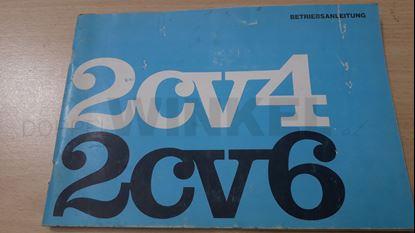 Bild von Betriebsanleitung 2CV4/2CV6 - GEBRAUCHTTEIL